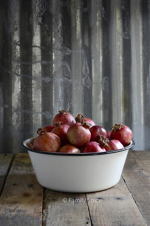 Pomegranates for Pomegranate Shrub by FamilySpice.com