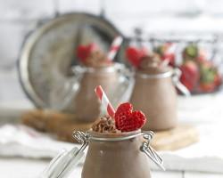 Dark Chocolate Mousse with Irish Cream by FamilySpice.com