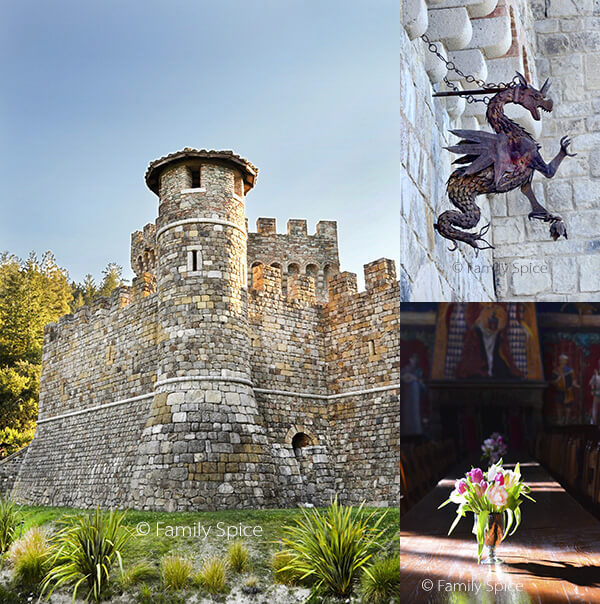 Things to Do in Napa with Kids: Castello di Amorosa by FamilySpice.com