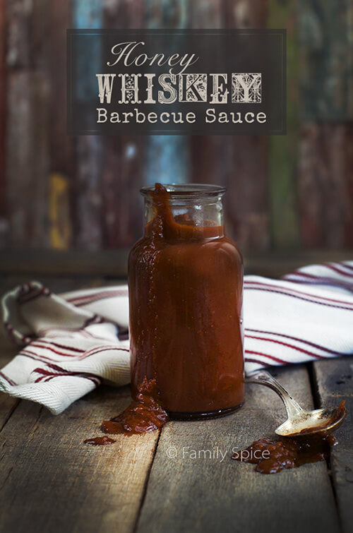 Honey Whiskey Barbecue Sauce by FamilySpice.com