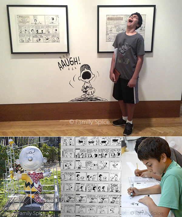 Things to Do in Napa with Kids: Charles M. Schulz Museum by FamilySpice.com