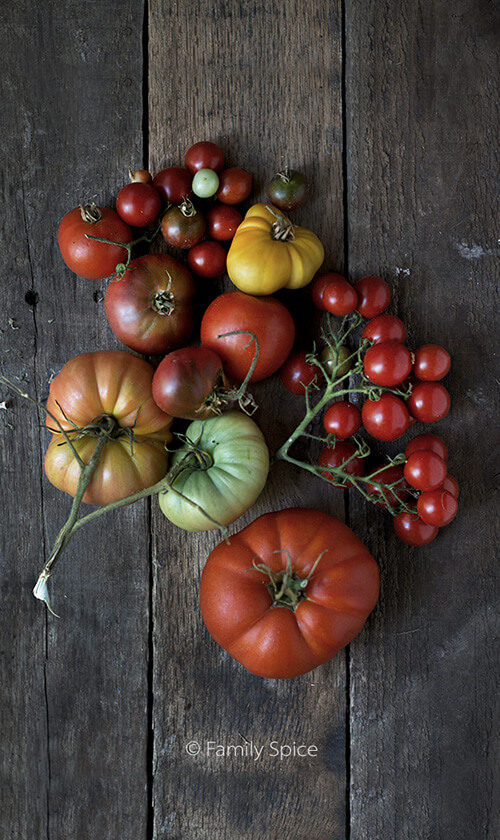 Heirloom Tomatoes by FamilySpice.com