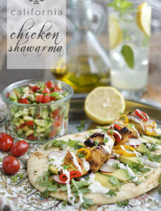 The California Grilled Chicken Shawarma