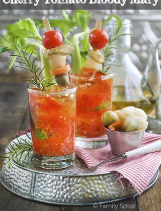 Cherry Tomato Bloody Mary… or Maybe the Muddled Mary?