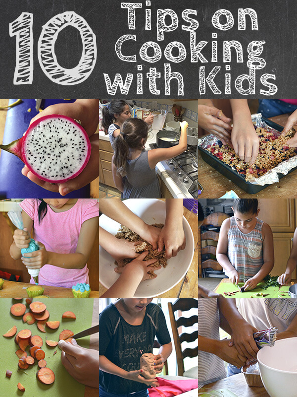 10 Tips on Cooking with Kids