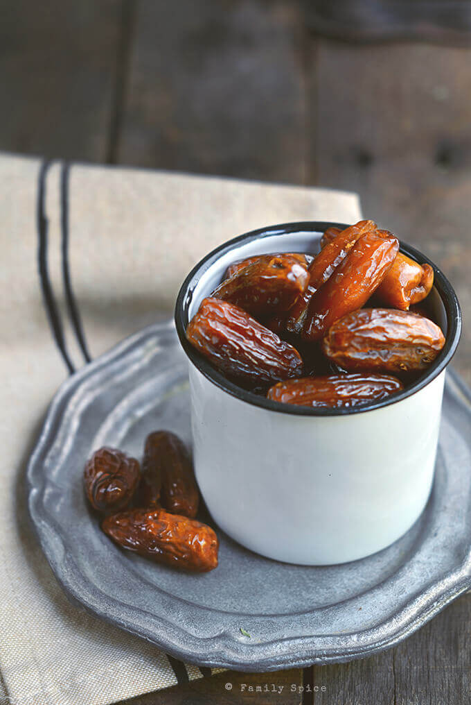 Naturally sweet dates by FamilySpice.com