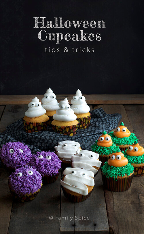 Tips and tricks for halloween cupcakes family spice - Decorating tips and tricks ...