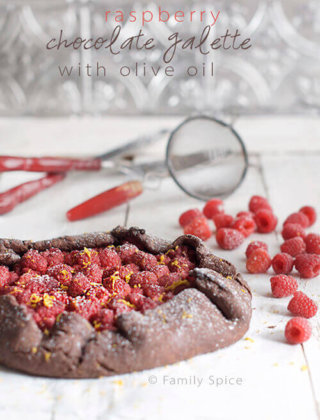 New Holiday Traditions with a Raspberry Chocolate Galette {Video}
