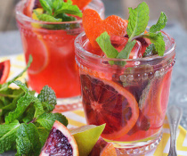 Blood Orange Mojito by FamilySpice.com