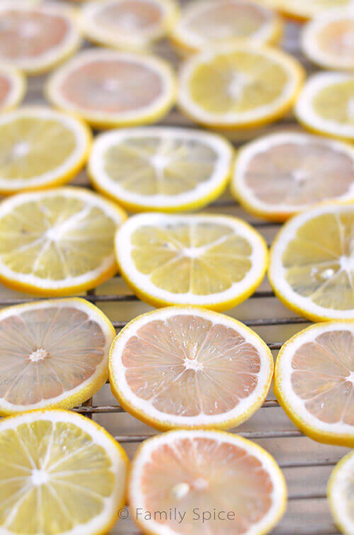 Pink Lemons and Meyer Lemons by FamilySpice.com