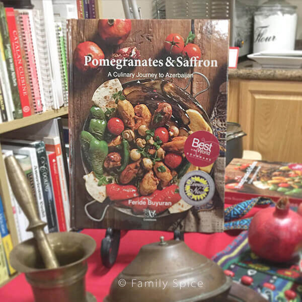 Pomegranates and Saffron Cookbook by Feride Buyuran