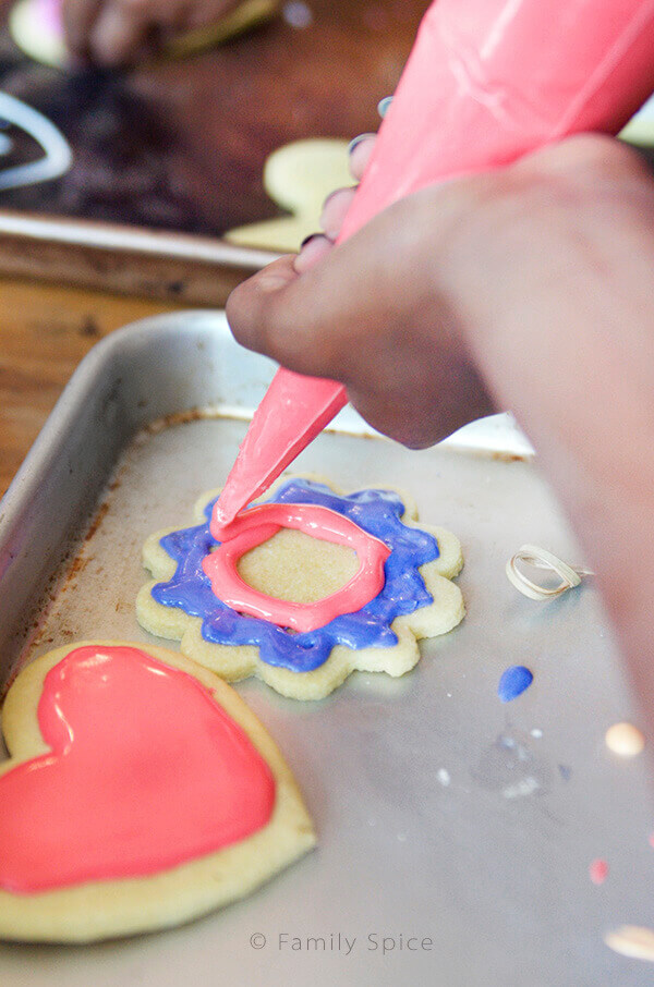 Kids Do Eat Real Food | Decorating Cookies with Kids by FamilySpice.com