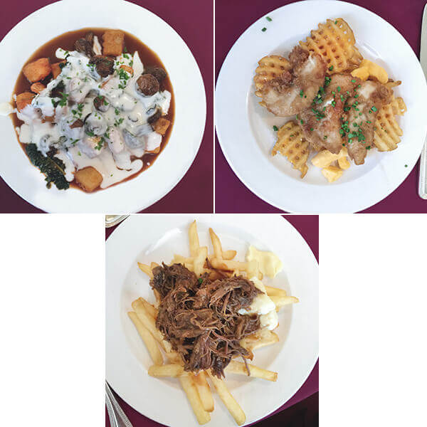 Poutine 3 Ways from the Food and Wine Conference - FamilySpice.com