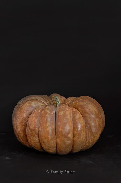 Cinderella Pumpkin for Pumpkin Hummus - FamilySpice.com