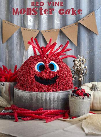 How to Make a How to Make a Red Vine Monster Cake - FamilySpice.com