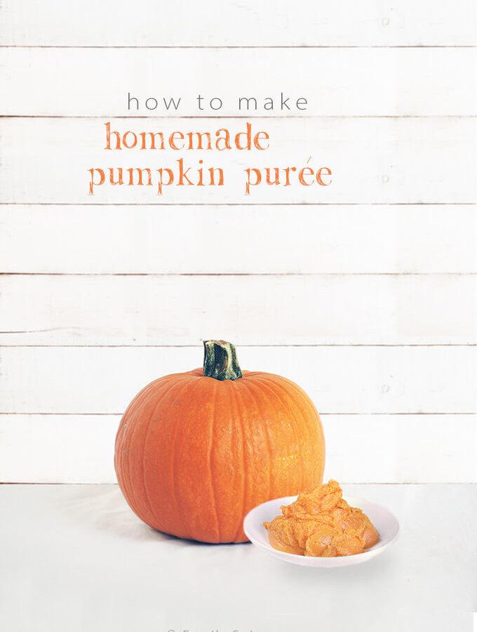 How to Make Homemade Pumpkin Puree by FamilySpice.com