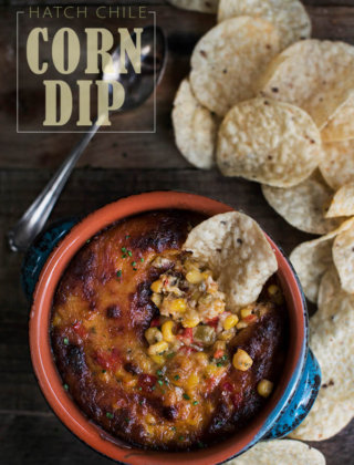 Hatch Chile Corn Dip for Game Day Eats