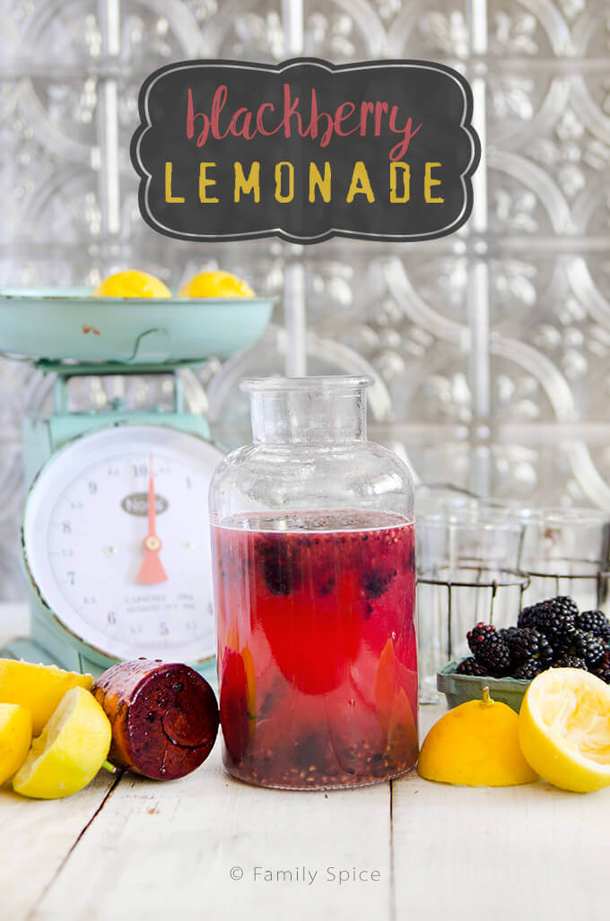 Blackberry Lemonade by FamilySpice.com