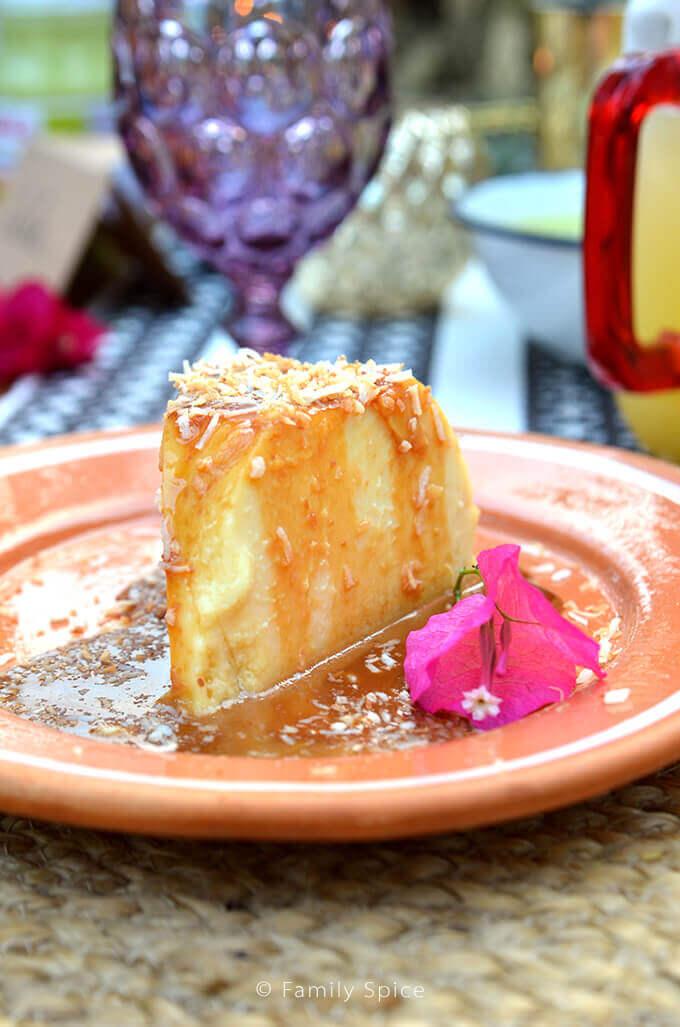 Silky Flan by Celebrity Chef Marcela Valladolid - FamilySpice.com #HerdezAtCasaMarcela