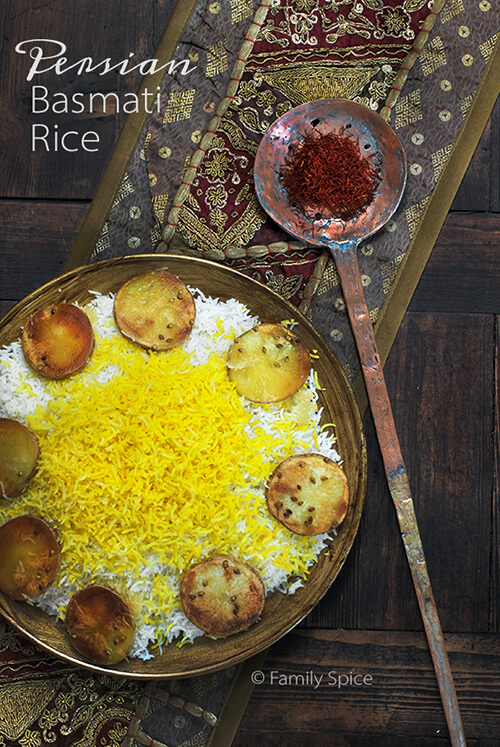 Basmati Rice with Potato Crust