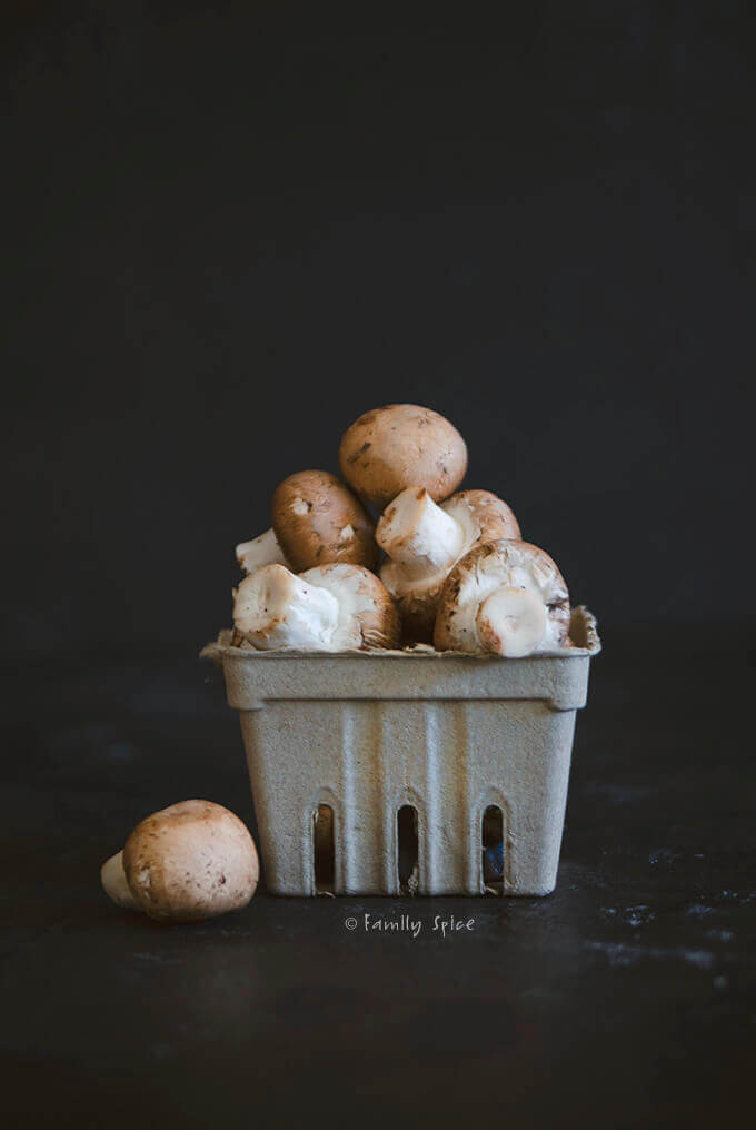 Cremini Mushrooms by FamilySpice.com