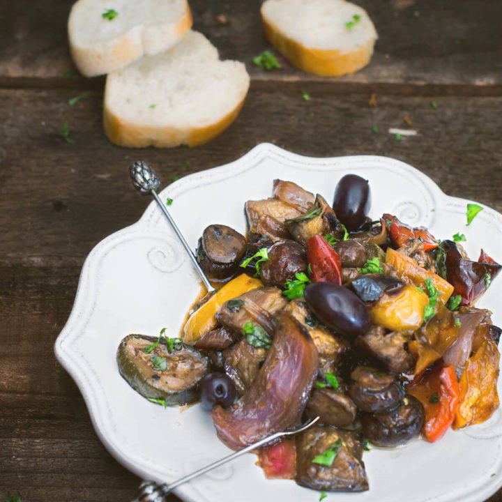 Balsamic Roast Vegetable Salad