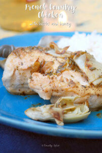 French Country Chicken With Herbs and Honey by FamilySpice.com