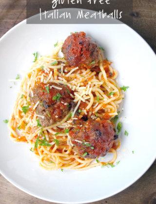 Gluten Free Italian Meatballs by FamilySpice.com