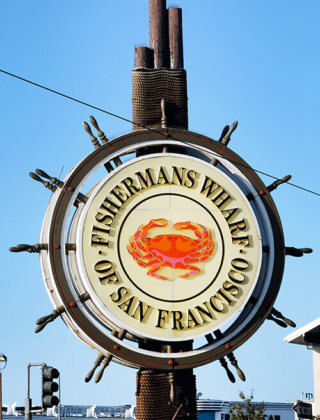 Fisherman's Wharf Sign by FamilySpice.com