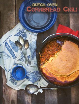 Dutch Oven Cornbread Chili