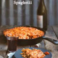 One Skillet Spaghetti (aka One Pot Spaghetti)