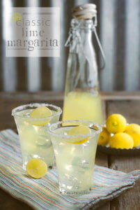 The Classic Lime Margarita by FamilySpice.com