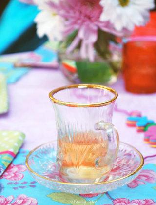 A Pretty Pink Tea Party by FamilySpice.com