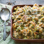 Whole Wheat Moist Stuffing with Swiss Chard by FamilySpice.com