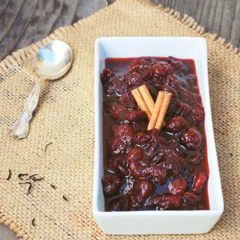 Spiced Tea Cranberry Sauce by FamilySpice.com