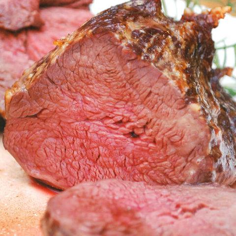 Grilled Beef Tenderloin with Salt Crust