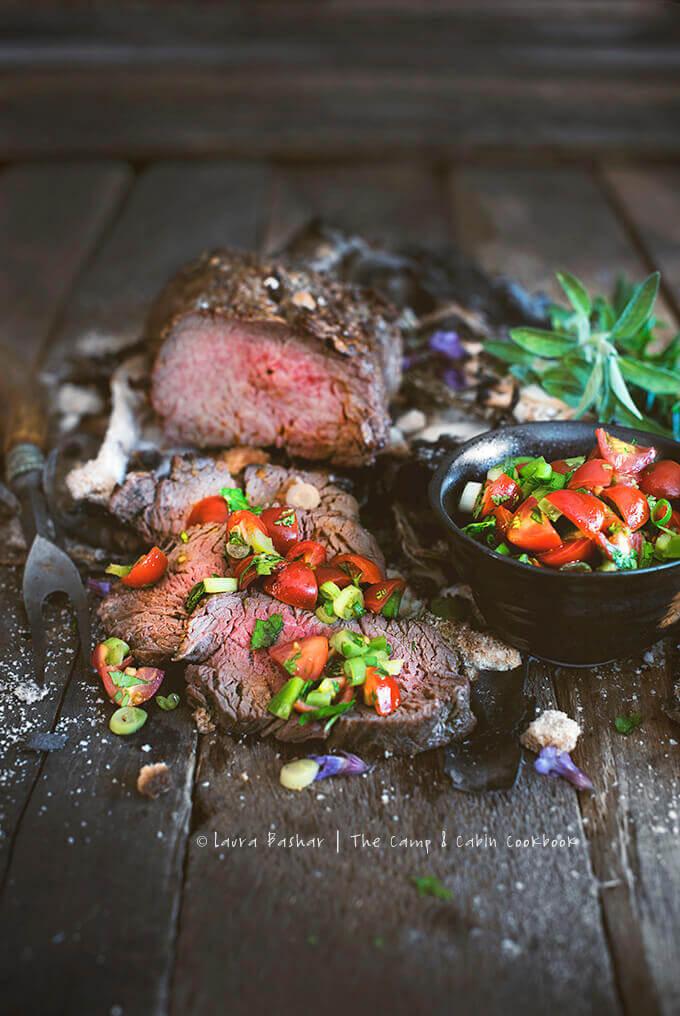 Lomo el Trapo (Beef tenderloin with salt crust) by FamilySpice.com