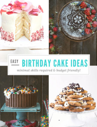 Budget Friendly Birthday Cakes