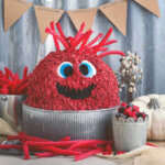 Red Vine Monster Cake by FamilySpice.com