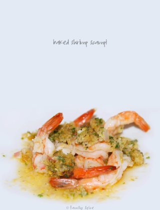 Ina Garten's Baked Shrimp Scampi