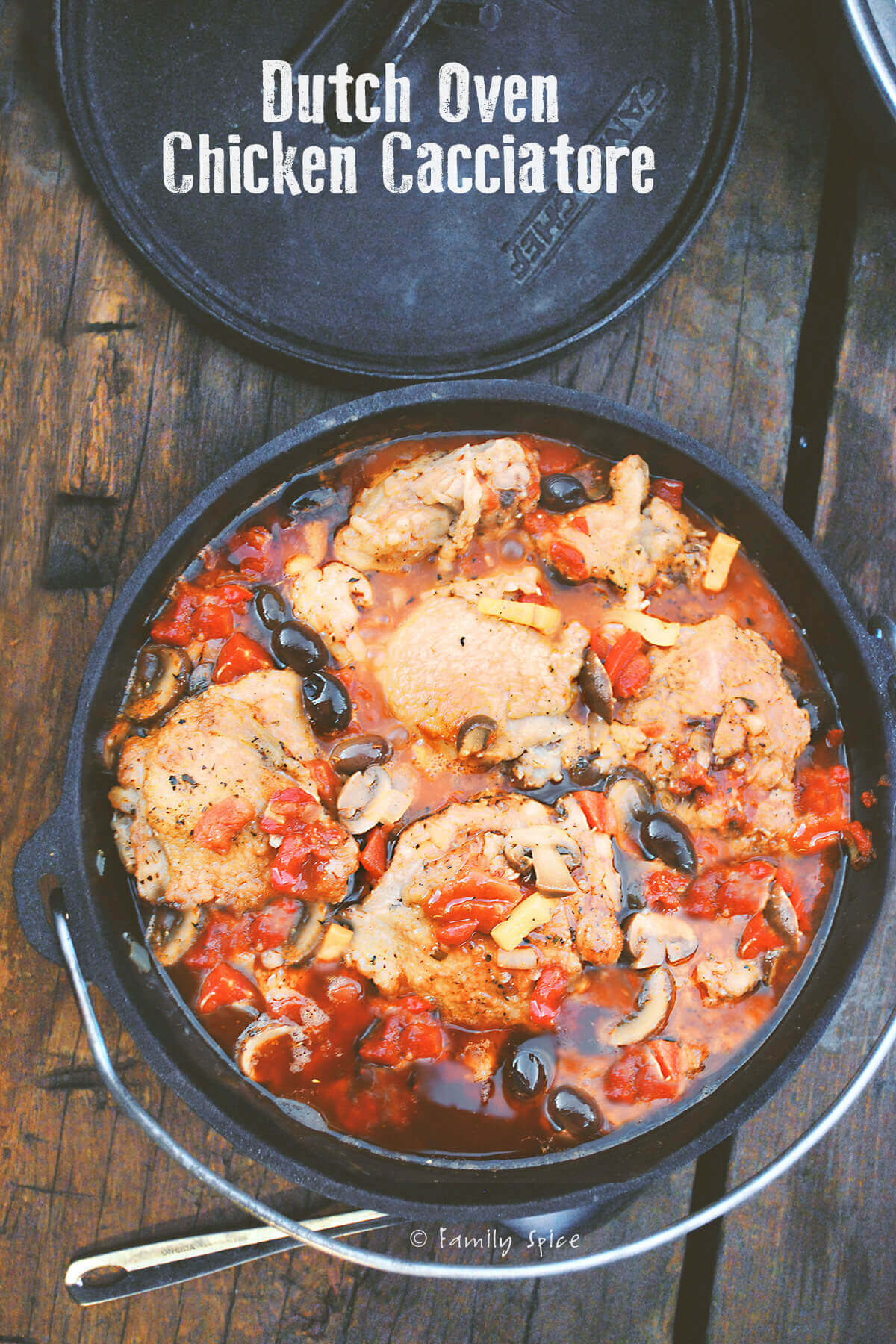 Dutch Oven Chicken Cacciatore Family Spice