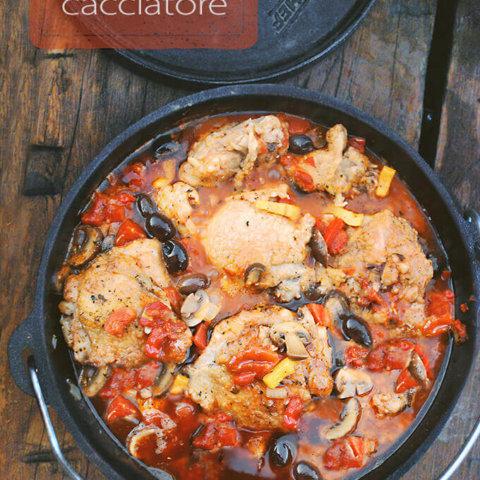 Dutch Oven Chicken Cacciatore