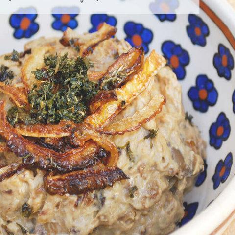 Persian Eggplant Dip (Kashkeh Bademjoon)