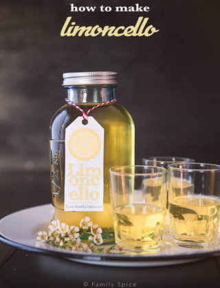 Homemade Limoncello | Free Printable