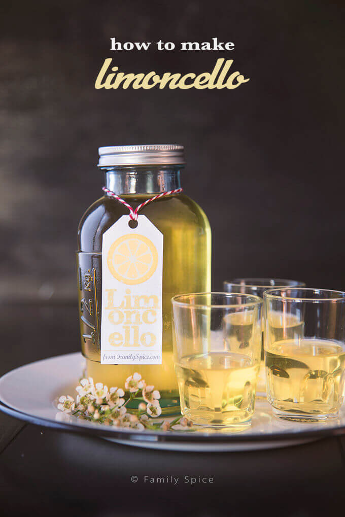 California Lemon Law >> Homemade Limoncello | Free Printable - Family Spice