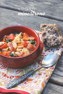 Veggie Packed Vegan Minestrone by FamilySpice.com
