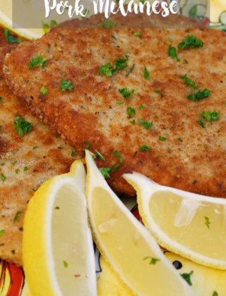 Pork Milanese by FamilySpice.com