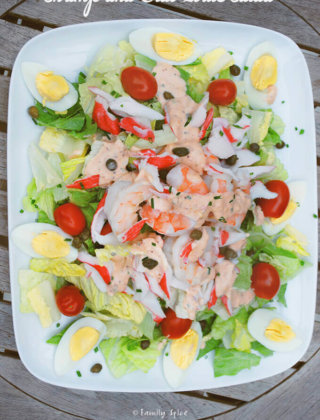 Shrimp and Crab Louis Salad by FamilySpice.com