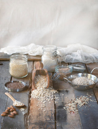 Assorted Whole Grains by FamilySpice.com