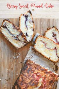 Berry Swirl Pound Cake by FamilySpice.com